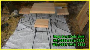 meja kursi cafe dari kayu,meja kursi cafe minimalis