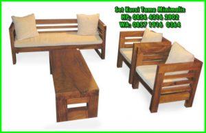 kursi kayu minimalis dan harganya