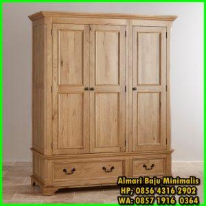 lemari pakaian dari kayu