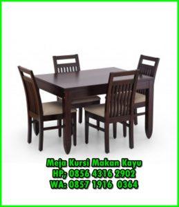 Produsen meja dan kursi makan minimalis