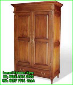 lemari baju dari kayu