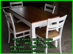 meja makan kecil untuk apartemen
