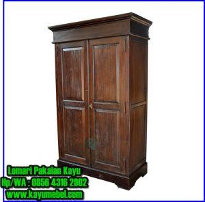 model lemari pakaian dari kayu jati,harga lemari pakaian kayu 2 pintu