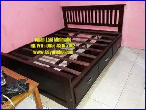 produsen tempat tidur dengan laci