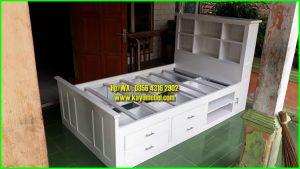 harga ranjang kayu ukuran 120x200