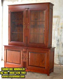 Desain furniture kayu minimalis