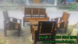 kursi kayu jati untuk ruang tamu