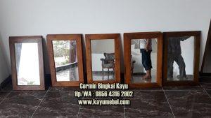 harga cermin kayu jati
