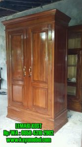 harga lemari kayu untuk kamar kos