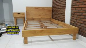 Tempat tidur kost minimalis