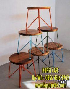 Meja kursi cafe minimalis