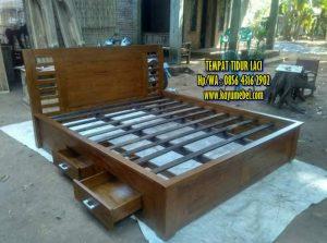 Harga tempat tidur laci Yogyakarta